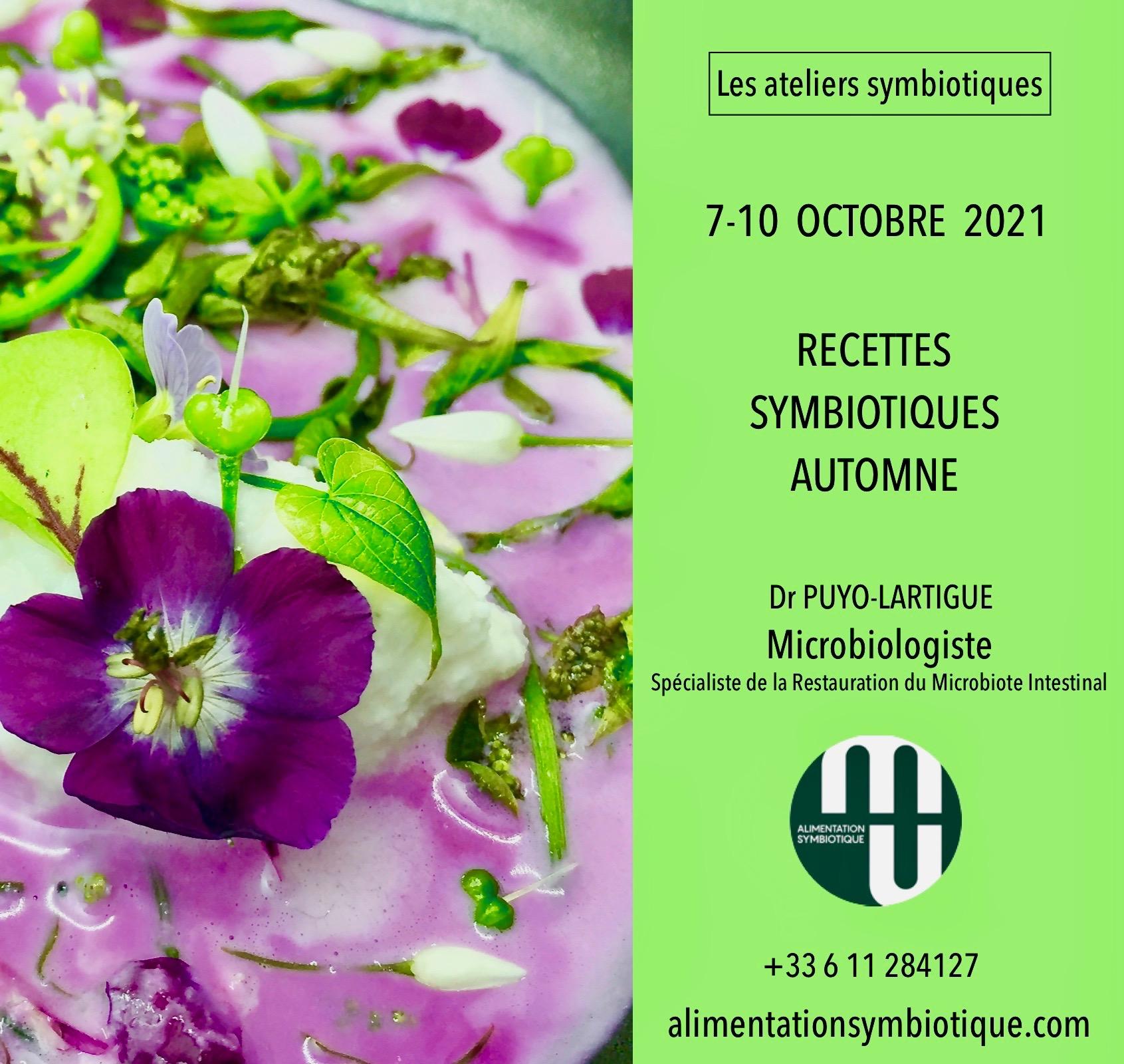 Affiche recettes symbiotiques octobre 2021 2
