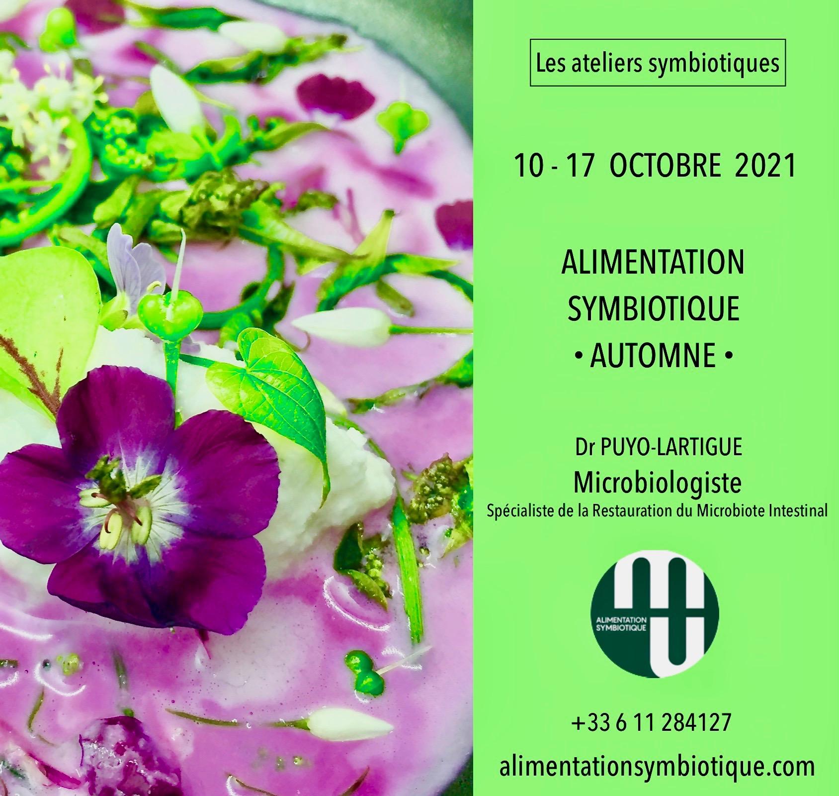 Affiche alimentation symbiotique 10-17 octobre 2021 2